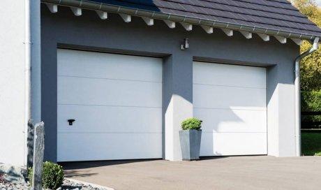 Pose de double portes de garage sectionnelles et isolantes à Dijon